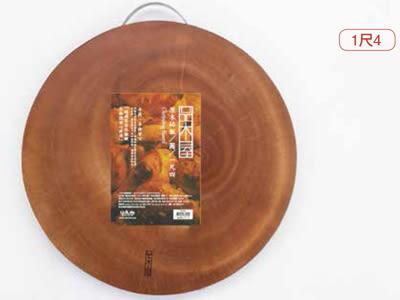 【好市吉居家生活】生活大師UdiLife K3134 品木屋圓型砧板(1尺4)