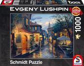 暮色黃昏 Lushpin 1000片 拼圖