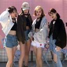 外套-10色潮流時尚純色拉鍊蝙蝠袖多口袋寬鬆短版休閒外套Kiwi Shop奇異果0920【SZZ9773】