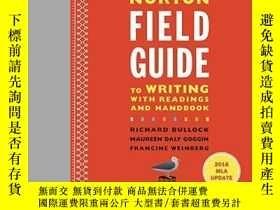 二手書博民逛書店The罕見Norton Field Guide To Writi
