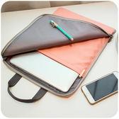 默默愛●●平板電腦保護套 蘋果ipad air2簡約手提全包內膽包