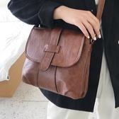 KISSME包包女2020新款潮時尚水洗皮軟皮百搭側背斜背迷你小方包 雙11 伊蘿