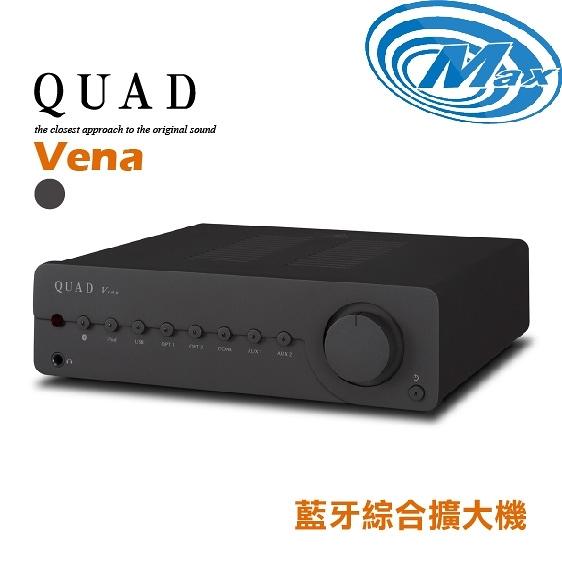 《麥士音響》 QUAD國都 藍牙綜合擴大機 Vena 鐵灰版