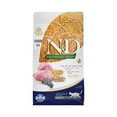 【Farmina 法米納】挑嘴成貓天然低穀糧LC-2羊肉藍莓1.5kg