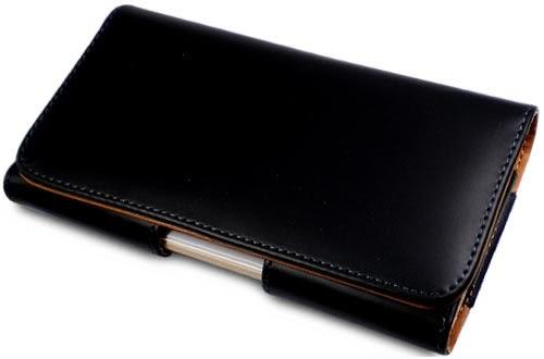 ★皮套達人★ Samsung/ LG 5.5 - 5.7吋智慧手機腰掛橫式亮面皮套 (郵寄免運)
