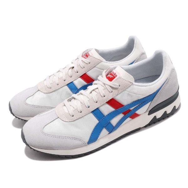 亞瑟士 Asics California 78 EX 米白 藍 紅 麂皮 休閒鞋 復古 基本款 男鞋 女鞋【PUMP306】 1183A194100