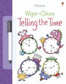 Wipe-Clean Telling The Time 可擦拭練習本:看時鐘