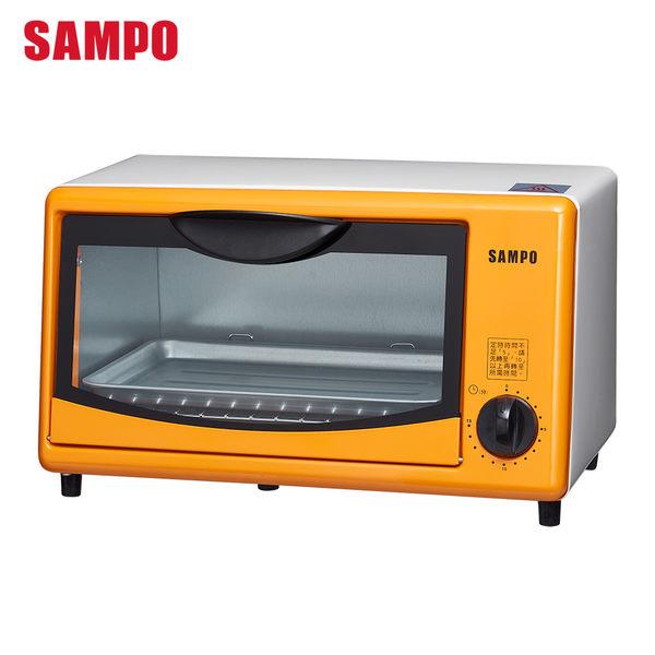 【福利品】SAMPO聲寶 8L電烤箱 KZ-SH08