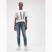 Gap女裝棉質舒適圓領短袖T恤544818-牛奶白色