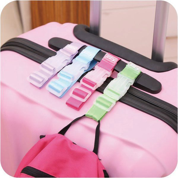 BO雜貨【SV6317】韓版SAFEBET旅行必備行李箱包掛扣 拉桿包包固定 防丟失 單扣