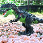 恐龍玩具兒童電動仿真動物模型遙控霸王龍