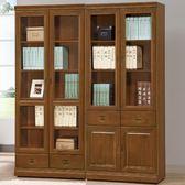 書櫃 書櫥 AT-540-14 樟木皇家5尺書櫃【大眾家居舘】