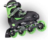 SLM溜冰鞋成人輪滑鞋直排輪套裝旱冰鞋兒童可調青少年滑冰男女閃