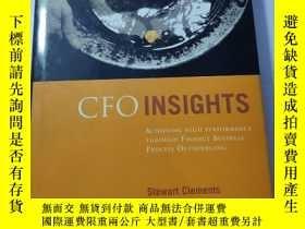 二手書博民逛書店英文原版罕見CFO Insights: Achieving High Performance Through Fi