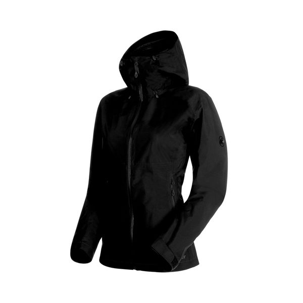 [Mammut] (女) GORE-TEX Convey Tour HS Hooded Jacket 防水透氣外套 黑 (1010-26020-0001)