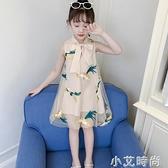漢服女童2021夏裝新款連衣裙中國風兒童裝公主旗袍裙子小女孩衣服 小艾新品