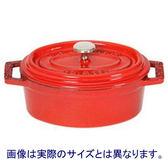 法國 Staub 橢圓形鑄鐵鍋 27cm-紅色 STOVAL-0084