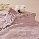 時尚純棉假領子女