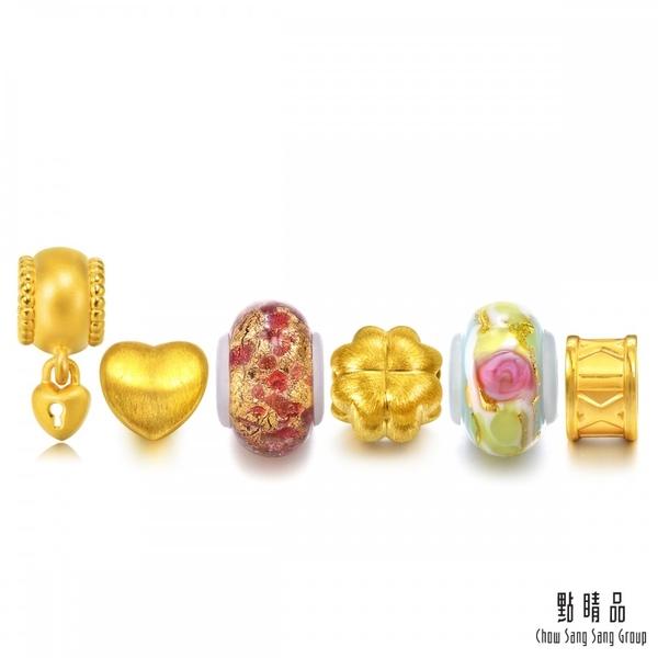 點睛品 Charme Murano Glass 永恆之愛限量版 黃金串珠