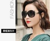 2020年新款太陽鏡女圓臉墨鏡潮時尚防紫外線眼鏡偏光大臉顯瘦ins【88折免運】