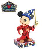 【正版授權】Enesco 米奇 幻想曲魔術師 塑像 公仔 精品雕塑 Mickey 迪士尼 Disney - 148955