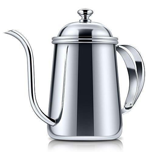 【日本代購】E - Prance 咖啡滴濾壺  細口壺不銹鋼650ml