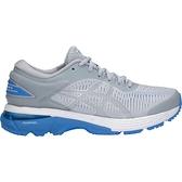 Asics GEL-Kayano 25 D [1012A032-022] 女 慢跑鞋 運動 休閒 緩震 寬楦 灰藍