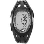 Speedo 衝鋒前陣電子腕錶-黑