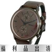 【台南 時代鐘錶 MANGO】甜美清新西班牙時尚 MG950011-95 大錶徑自我展現 咖啡 45mm
