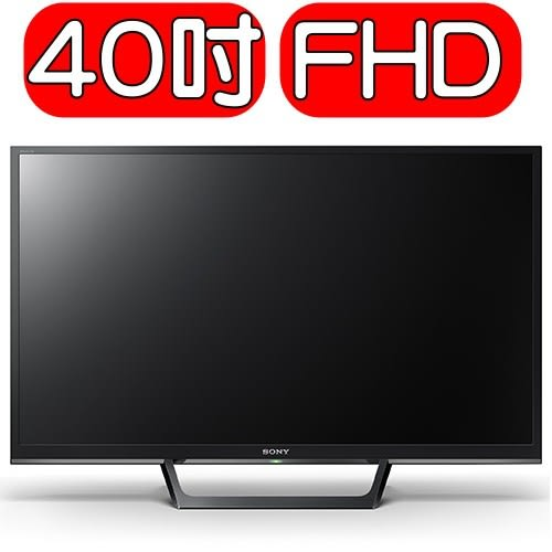 SONY索尼【KDL-40W660E】40型 FHD 高畫質液晶電視