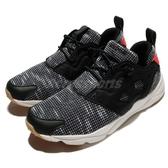 Reebok 休閒慢跑鞋 Furylite FBT 黑 米白 雪花 基本款 休閒鞋 運動鞋 黑白 女鞋【PUMP306】 BS6184