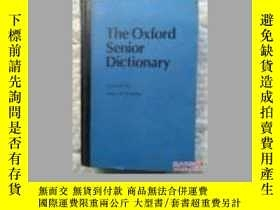 二手書博民逛書店The罕見Oxford Senior DictionaryY14