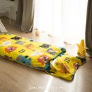 兒童睡袋 [ 怪怪妖怪 / 黃 ]  ; 多用途舖棉兩用 ; 翔仔居家獨家人氣首發