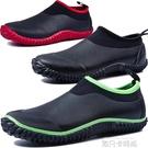 時尚男款雨靴男士雨鞋低筒水靴短筒防水鞋釣魚鞋新款橡膠低筒套鞋 依凡卡時尚