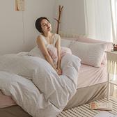 純棉 床包被套組(薄) 雙人【小實】ikea風 100%精梳棉 翔仔居家