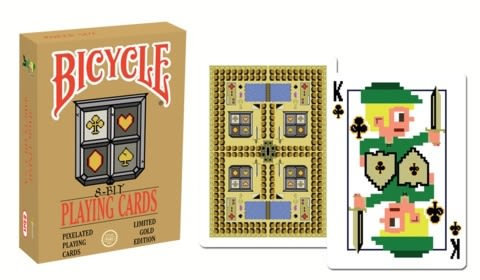 【USPCC 撲克】BICYCLE 8-BIT gold PLAYING CARDS