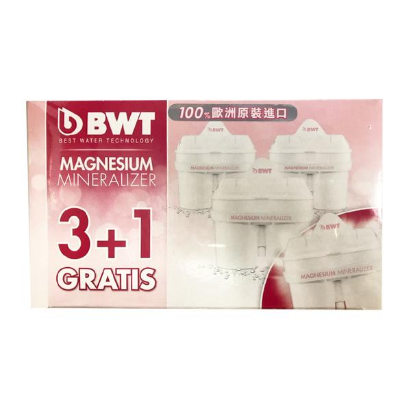 [BWT] Mg2+鎂離子長效型濾心(4入組)【好食家】