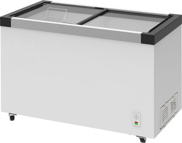 ACFA  欧规 玻璃式冷冻柜【4尺2冰柜】型号:NI-448