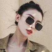 太陽鏡新款太陽鏡女士墨鏡潮ins復古正韓圓臉顯瘦偏光眼鏡防紫外線【快速出貨八折下殺】