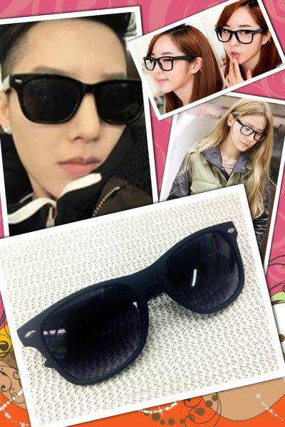 【金橘眼鏡】歐美復古鉚釘墨鏡►時尚型人必備款(歐美黑色)