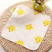 純棉口水巾紗布薄款新生兒童嬰兒雙層方巾寶寶洗臉小毛巾手帕  k-shoes
