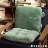 椅墊連體坐墊女學生墊子椅子座墊宿舍座椅凳子辦公室加厚靠墊一體 WD創意家居生活館