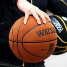 ▶室內室外水泥地籃球牛皮質感真皮手感軟皮7號學生翻毛5成人