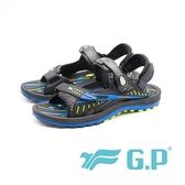 【G.P】雙層舒適緩震兩用涼拖鞋 男女共用款 藍(另有綠)