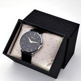 男生手錶男潮皮帶學生韓版簡約超薄時尚潮流休閒防水石英錶非機械