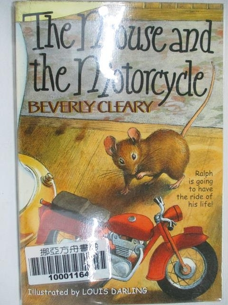 【書寶二手書T3/原文小說_BAP】The Mouse and the Motorcycle