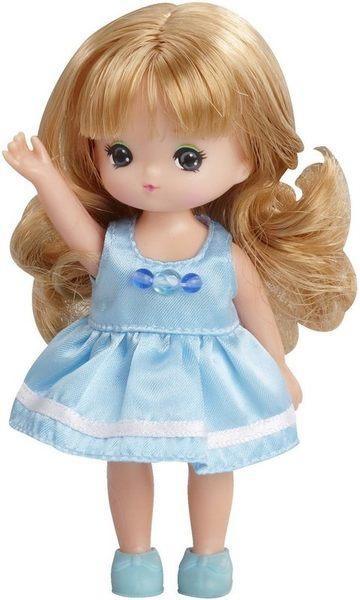 Licca 莉卡娃娃LD-21美紀娃娃 LA38368(高約10公分內含美紀娃娃及鞋子)TAKARA TOMY