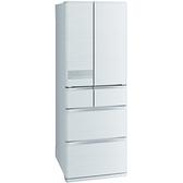 【MITSUBISHI 三菱】525L 日本原裝六門變頻電冰箱 絹絲白 MR-JX53C-W-C (送基本安裝)
