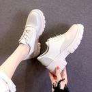 牛津小皮鞋女2021秋季新款英倫學院風韓版百搭粗跟學生復古日系jk單鞋 8號店