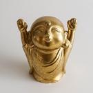 日本高岡銅器 無心(六心)地藏-歡喜 神像佛教文物祭改結緣